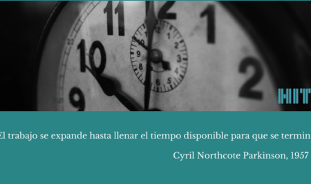 Cuanto más tiempo tengo, más tiempo tardo: la Ley de Parkinson y la gestión de tu tiempo.